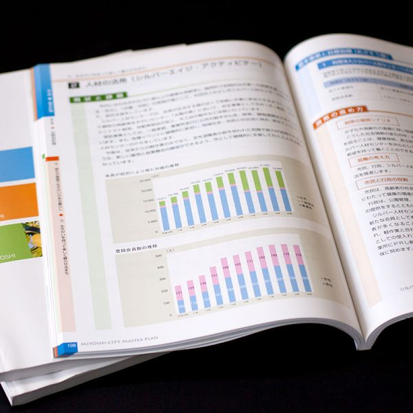 総合計画書デザイン制作