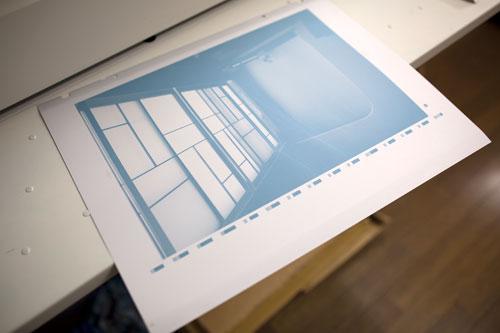 印刷する版
